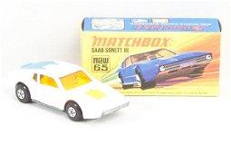 237: Matchbox Superfast 65-A White Saab Sonnet