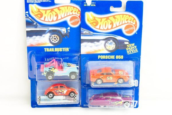 801: 8 Hot Wheels Blue Card Incl. VW Mustang Hot Bird
