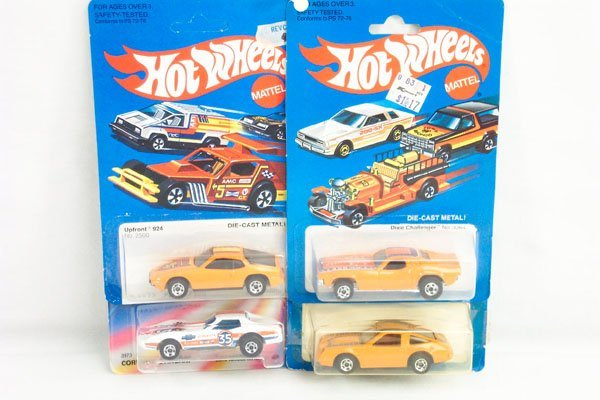 802: 8 Hot Wheels Incl. Pepsi Fire Corvette Challenger