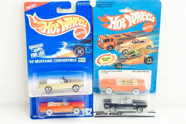 803: 8 Hot Wheels Ford Mustang Variation Models