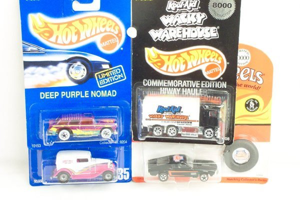806: 4 Hot Wheels Ltd. Ed. Nomad Ford Mustang Truck