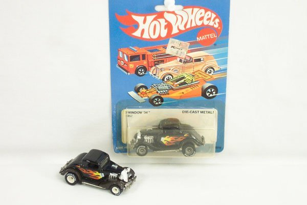 807: 2 Hot Wheels Real Riders 3 Window '34 Coupe