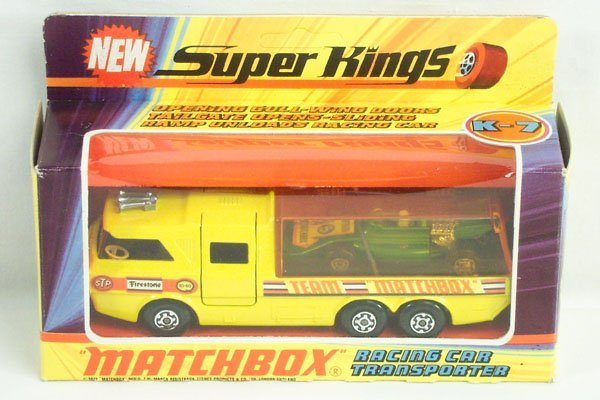 813: Matchbox Super Kings SK-7 Racing Car Transport