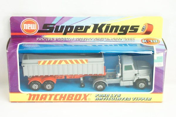 814: Matchbox Super Kings SK-18 Ford Tipper Truck