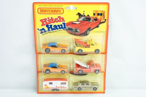 817: 3 Matchbox 2-Pack Incl. Revin Rebel & Cortina