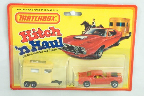 819: Matchbox 2-Pack TP-3 Pony Trailer Set