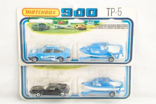 820: 2 Matchbox 2-Pack TP-5 Weekender Set w/Boat