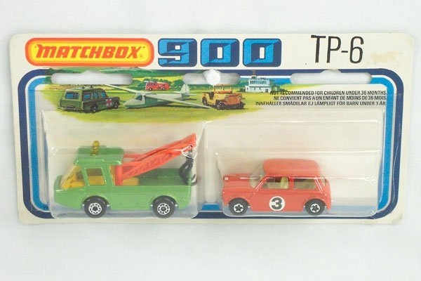 821: Matchbox 2-Pack TP-6 Breakdown Set w/Mini