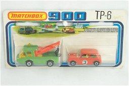 821: Matchbox 2-Pack TP-6 Breakdown Set w/Mini
