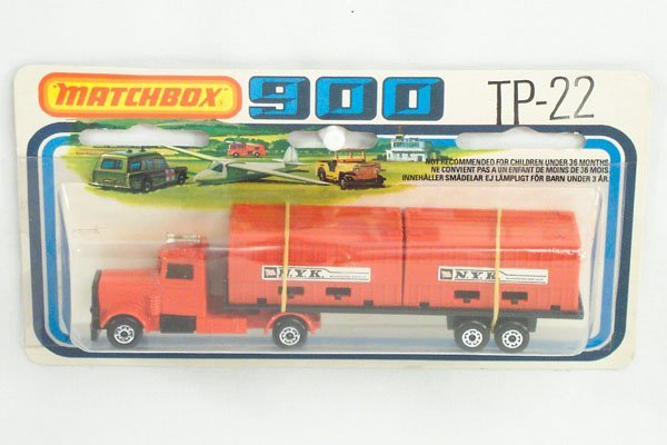 823: Matchbox 2-Pack TP-22 NYK Container Truck