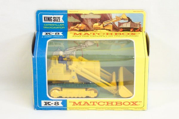 896: Matchbox Lesney King K-8 Caterpillar Traxcavator