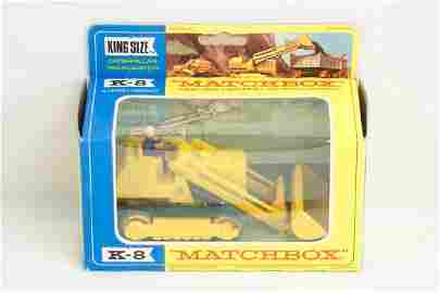 896: Matchbox Lesney King K-8 Caterpillar Traxcavator