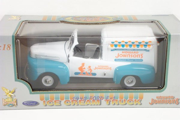 5: 1:18 Road Legends Howard Johnson's Ice Cream Van