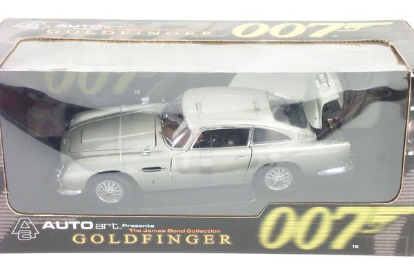 6: 1:18 Auto Art James Bond 007 Aston Martin Boxed