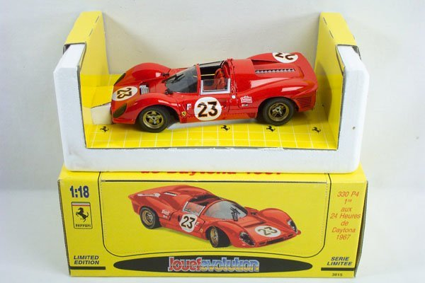10: 1:18 Jouef Evolution 1967 Ferrari 330 Race Car