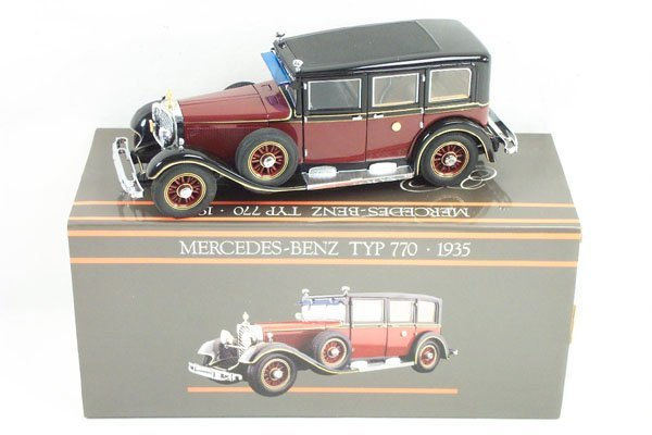 11: 1:24 Paul's Model Art 1935 Mercedes Benz 770