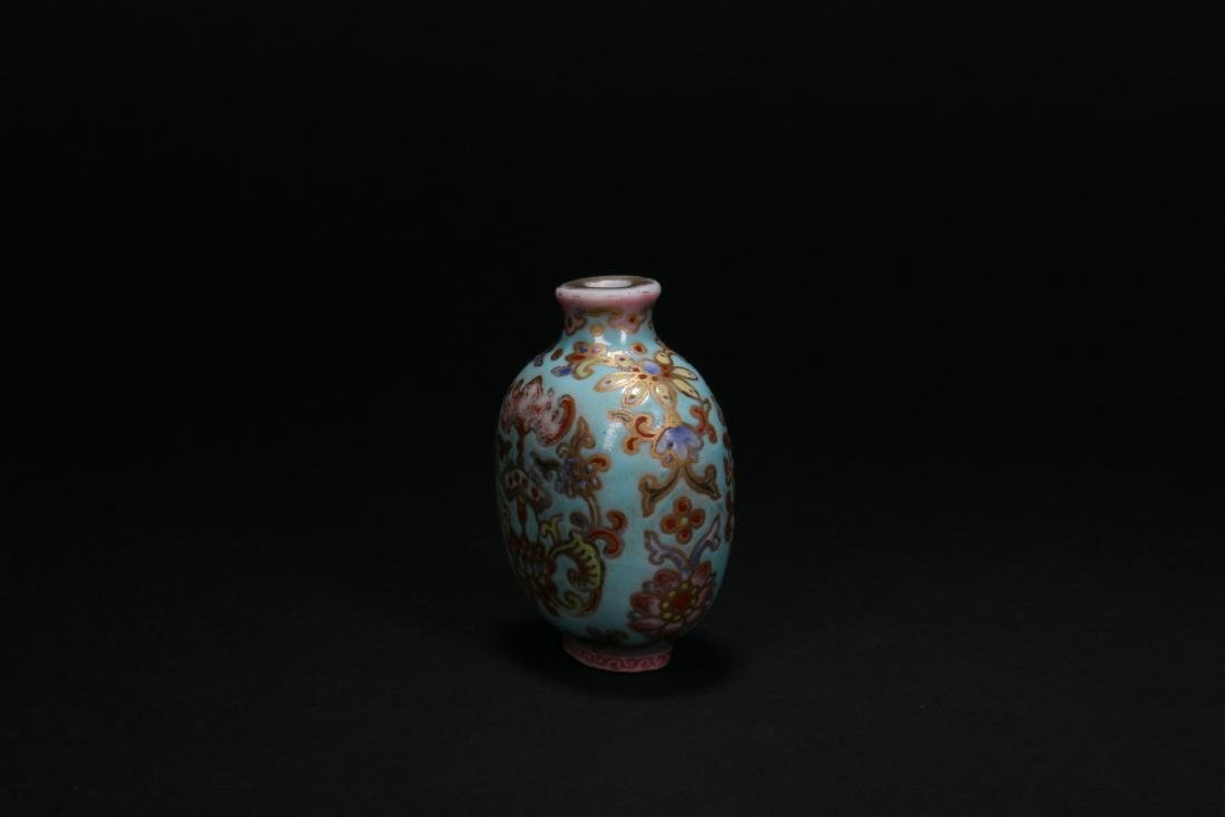 A Chinese Porcelain Snuff Bottle - 4