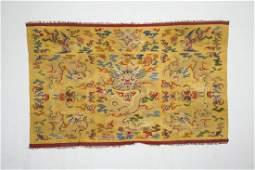A Chinese Embroidery with Six Phenix