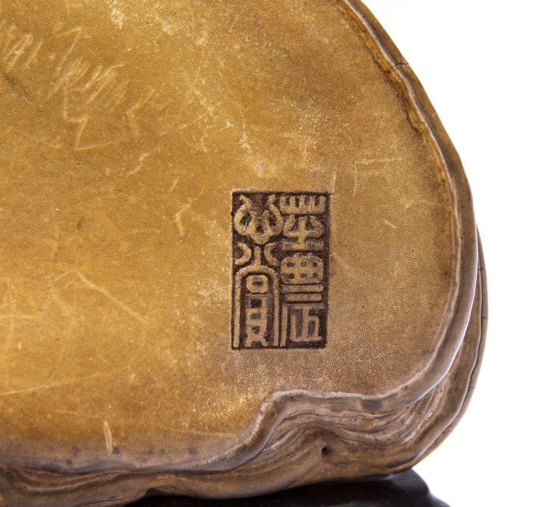 A Chinese Wild Ganoderma lucidum Decoration - 4