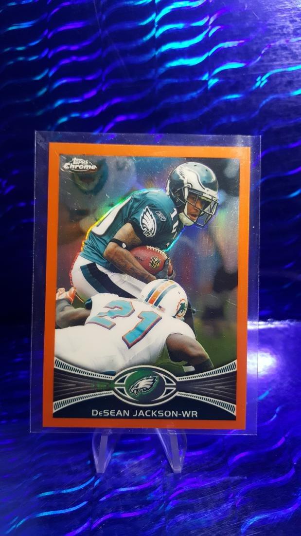 2012 Topps Chrome Orange Refractors #92 DeSean Jackson