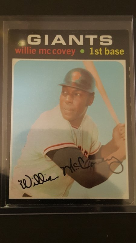 1971 Topps #50 Willie McCovey