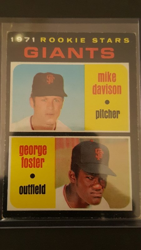 1971 Topps #276 Rookie Stars/Mike Davison RC/George