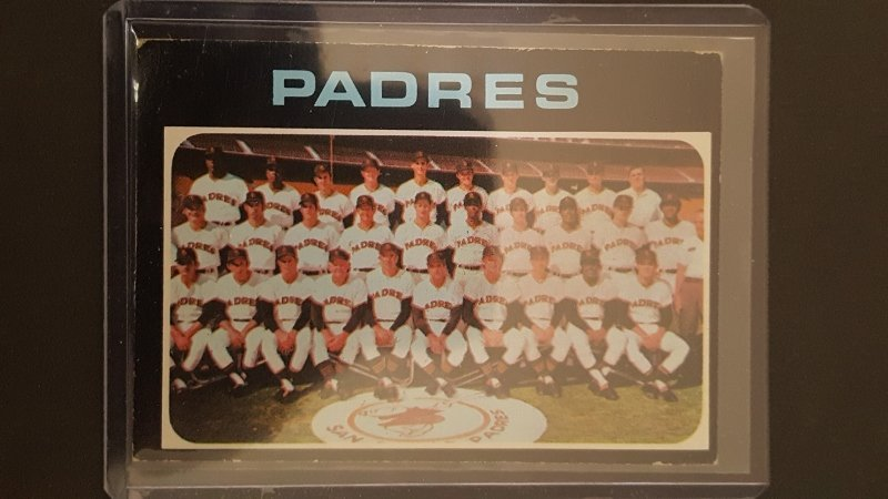1971 Topps #482 San Diego Padres TC