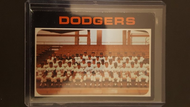 1971 Topps #402 Los Angeles Dodgers TC