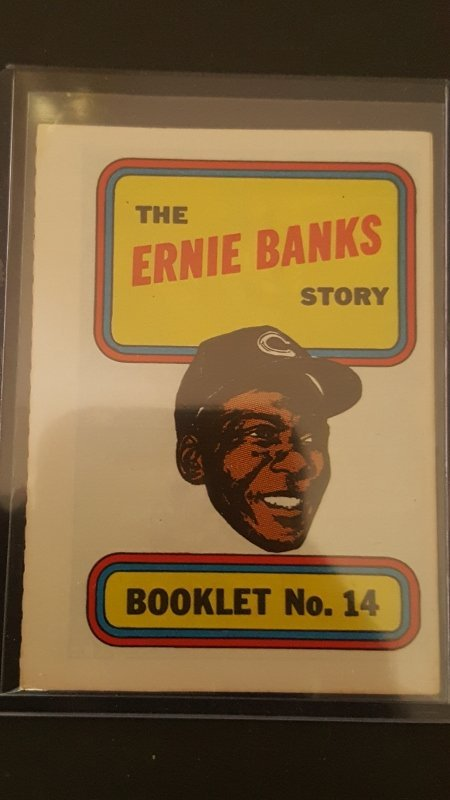 1970 Topps Booklets #14 Ernie Banks