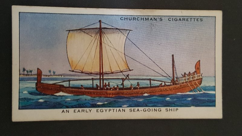 1937 Story of Navigation #6 An Early Egyptian Sea-Going