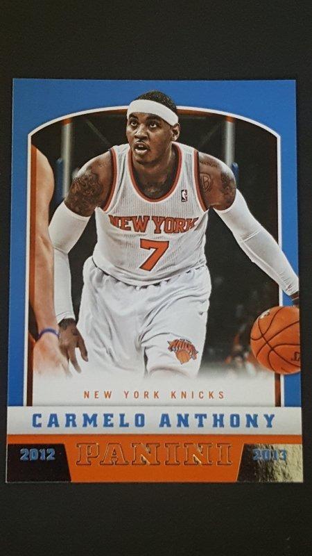 2012-13 Panini #28 Carmelo Anthony