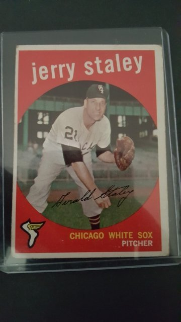 1959 Topps #426 Gerry Staley