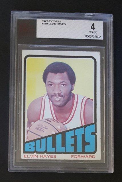 1972-73 Topps #150 Elvin Hayes
