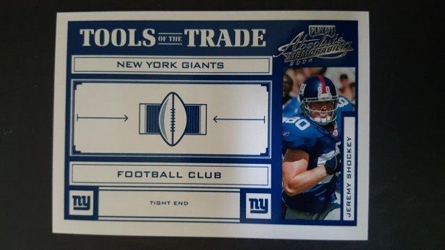 2004 Absolute Memorabilia Tools of the Trade #TT39