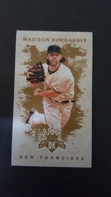2016 Diamond Kings DK Minis #86 Madison Bumgarner