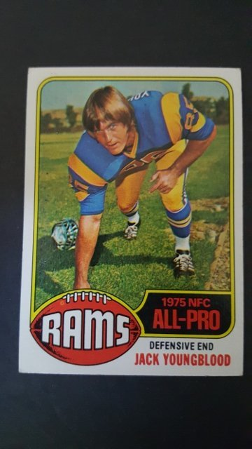 1976 Topps #310 Jack Youngblood All-Pro