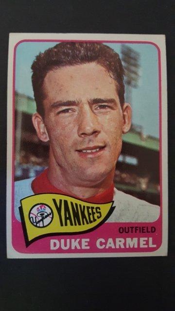 1965 Topps #261 Duke Carmel