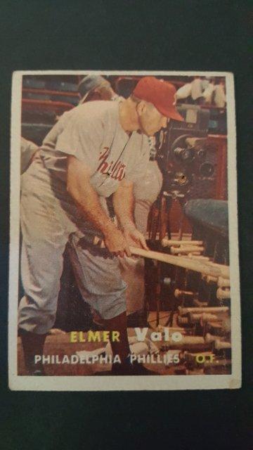 1957 Topps #54 Elmer Valo