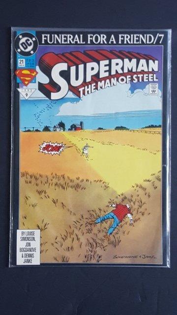 DC Comics Superman Man Of Steel #21
