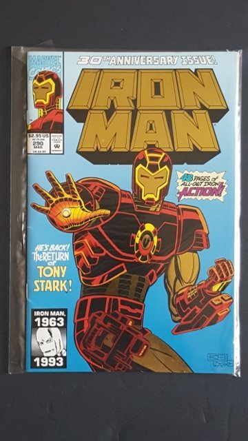 Marvel Comics Iron Man #290