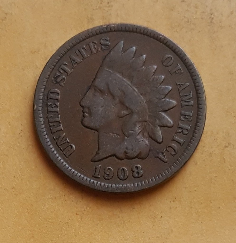 1908 Indian Head Penny