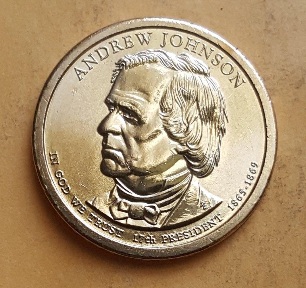 2011 Andrew Johnson Presidential Dollar