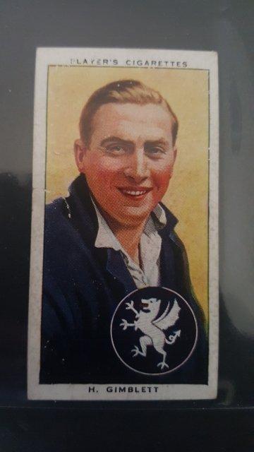 1938 John Player & Son's Player's Cigarettes #9 H.