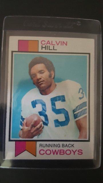 1973 Topps #35 Calvin Hill