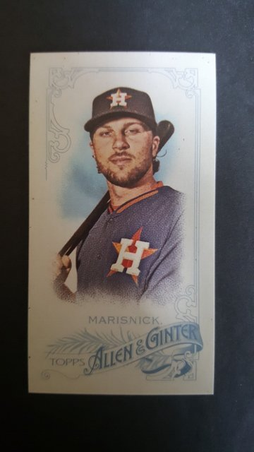 2015 Topps Allen and Ginter Mini A and G Back #52 Jake