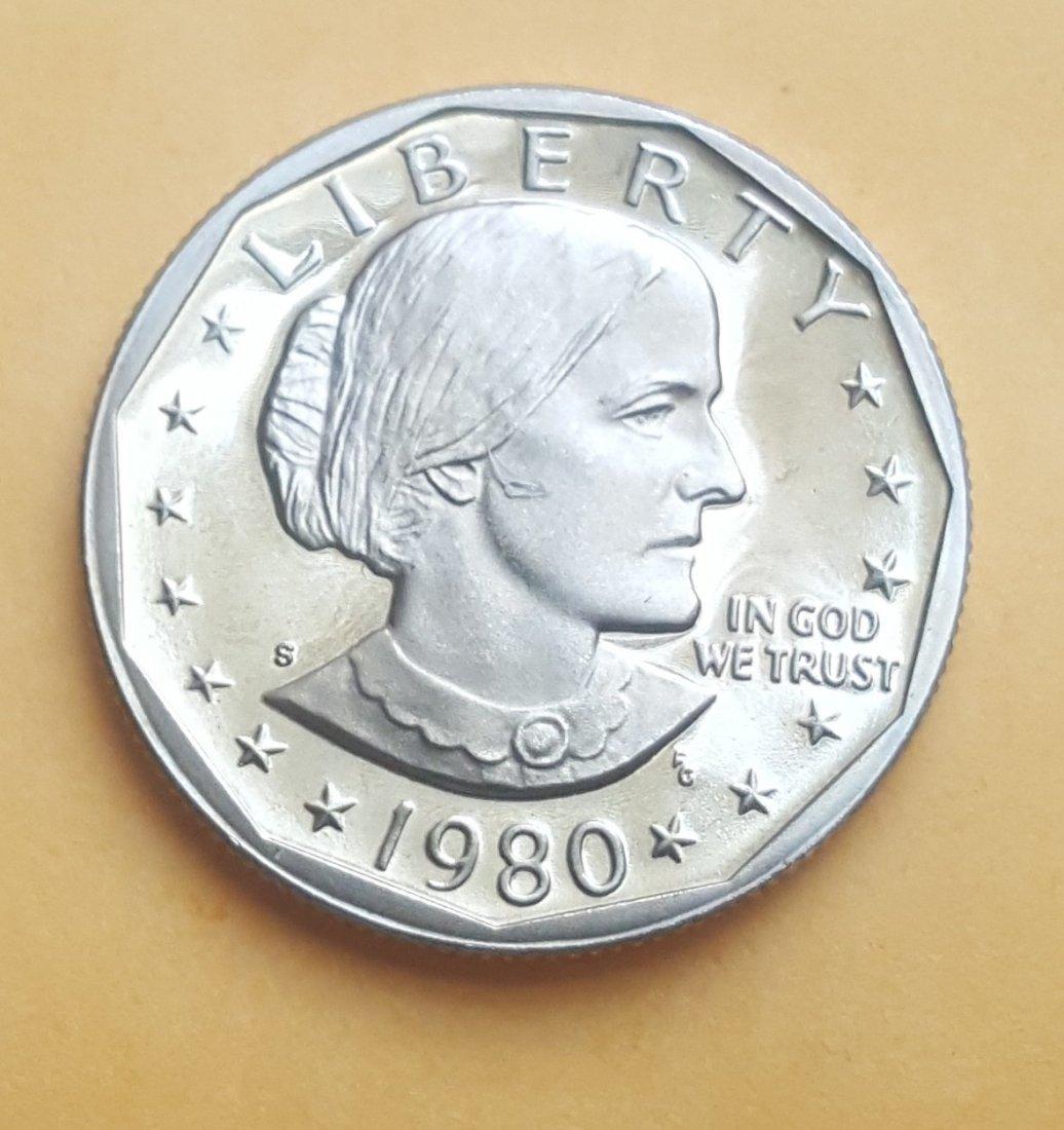 1980-S Susan B. Anthony Dollar