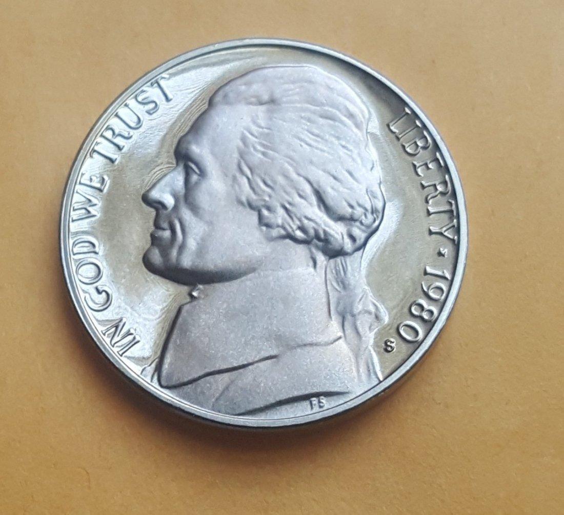 1980-S Jefferson Nickel