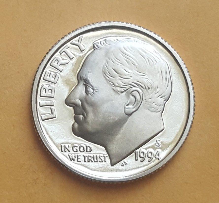 1994-S Roosevelt Dime