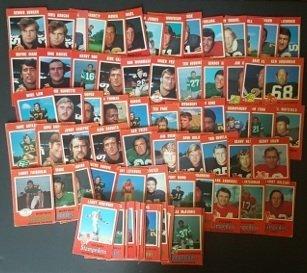 117 1971 O-Pee-Chee CFL Football Cards
