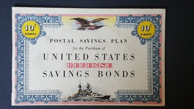WWII U.S. Postal Defense Savings Bond Booklets